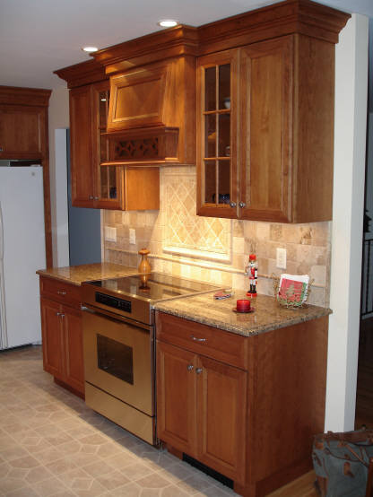 Allen cabinets for Heirloom kitchen nj